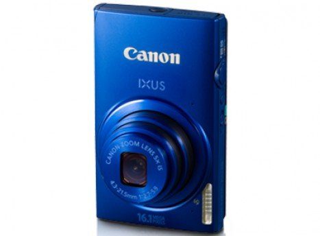 Canon Digital IXUS 240 Back