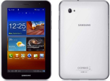 Samsung Galaxy Tab 620 Front And Back