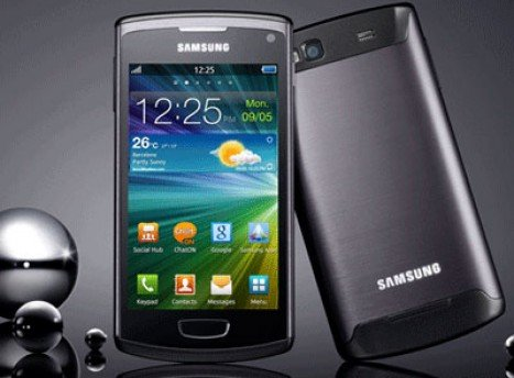 Samsung Wave 3 Back