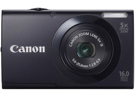 Canon PowerShot A3400 IS Back