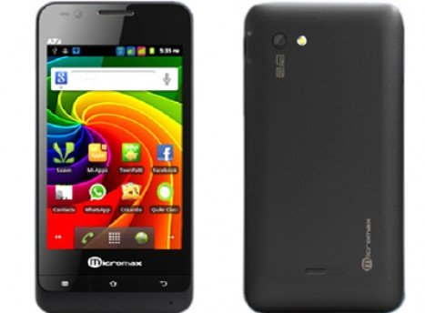 Micromax A73 Screen