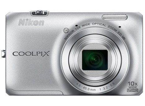 Nikon Cool Pix S6300 White