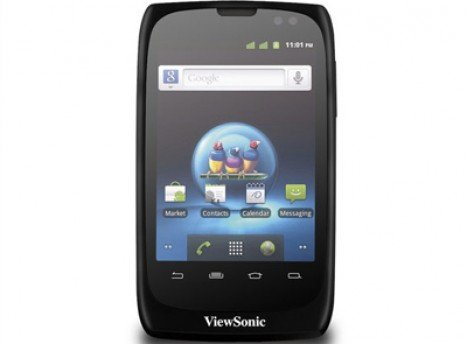 ViewSonic ViewPhone3 Screen