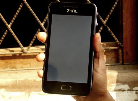 Zync Cloud Z5 Screen