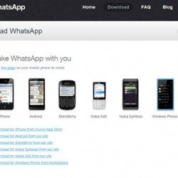 WhatsApp for BlackBerry 10 OS