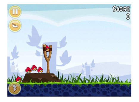 Angry Birds seemed fun to play