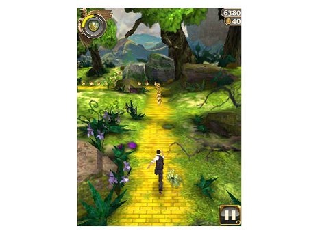 Temple Run Oz ran with bit lags