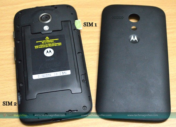 MOTO G Battery and Storage