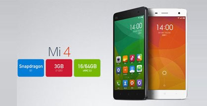 Xiaomi Mi4 with 5-inch FHD display, Snapdragon 801 SoC Launched