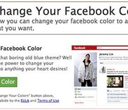 Facebook colour virus