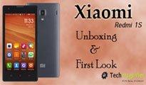 Xiaomi Redmi 1S Smartphone Unboxing & First Look