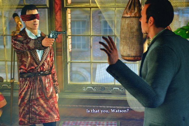Sherlock Holmes Crimes & Punishments
