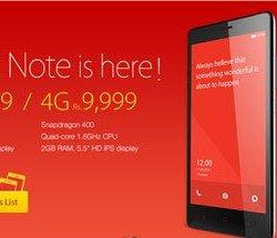 Redmi Note 3G vs 4G