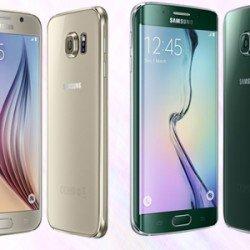 Galaxy S6 Edge smartphones